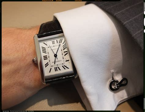 Cartier Revo Black Gold cartier tank large model