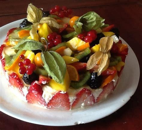 Decoration Genoise Aux Fruits by G 233 Noise Mousseline Aux Fruits Lilo Recette Cuisine