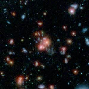 Outside Of Earth Essay by Nasa Telescopes Find Galaxy Cluster With Vibrant Nasa