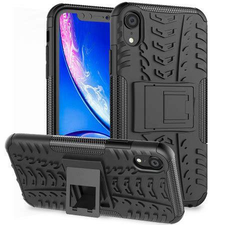 olixar armourdillo iphone xr protective black