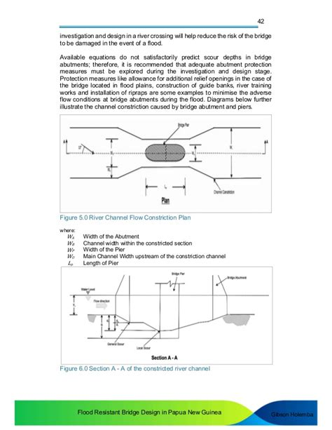 Tying During Section by Flood Resistant Bridge Design In Png Rev0117 Draft