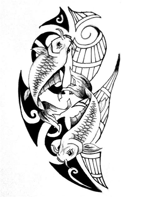 tribal pisces tattoos 7 best images about tribal fish tats on pisces