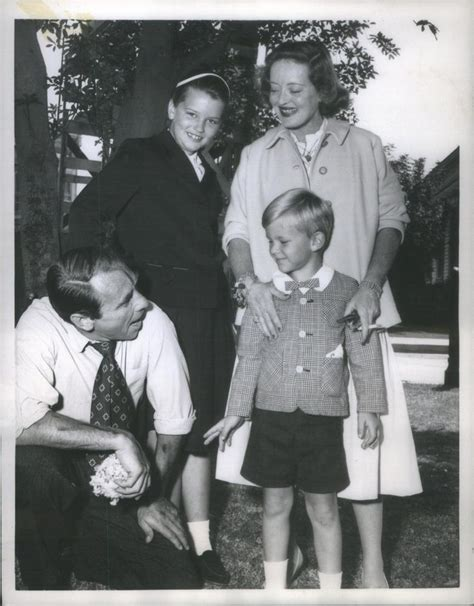 betty davis children bette davis gary merrill and children bette davis