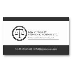 professional attorney business cards on pinterest