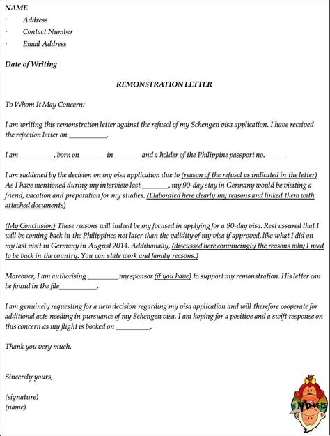 German Embassy Invitation Letter For Application Letter Germany Visa