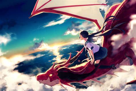 Dragons Set 1 Megablock Ori Original achiki black hair clouds hair original seifuku