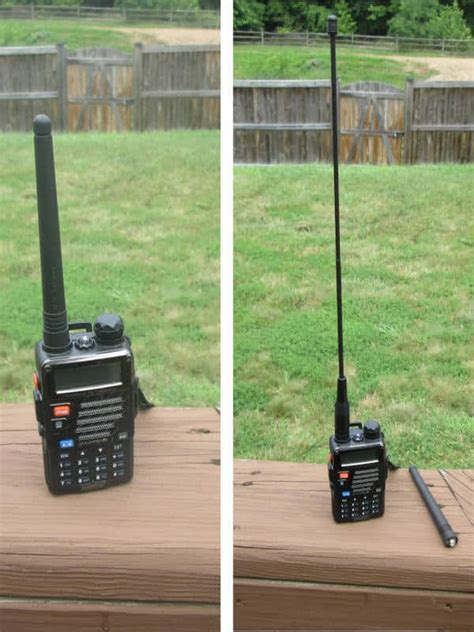 best antenna for baofeng baofeng antenna upgrade prepper