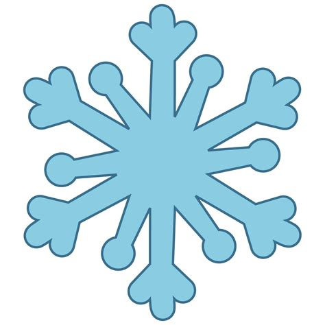 snowflake clipart free bold snowflake cliparts free clip free