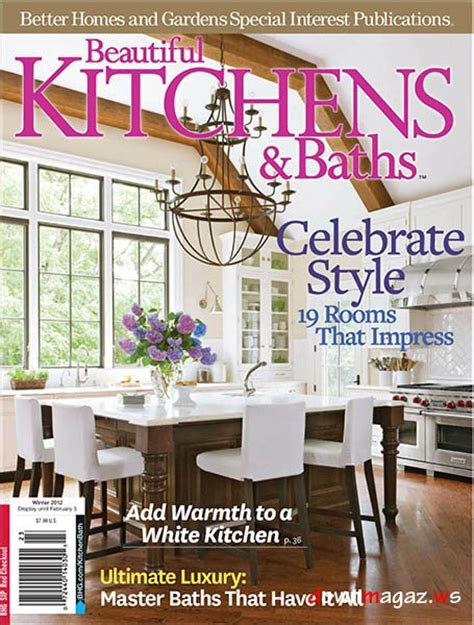 kitchen magazine beautiful kitchens baths magazine winter 2012 187 download