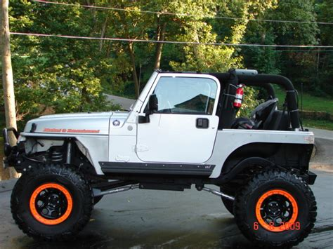 lifted jeep tj 2004 jeep tj supercharger stroked lifted 8 quot 400 hp engine