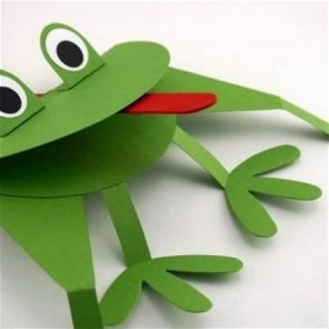 Frog With Paper - 25 best ideas about frog crafts on