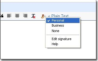 cara terbaru buat signature pada email yahoo dtechnoindo buat html signature pada email anda dengan menggunakan
