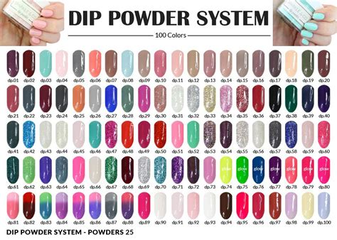 color dip 1 oz dip powder choose from 115 colors sparkle and co