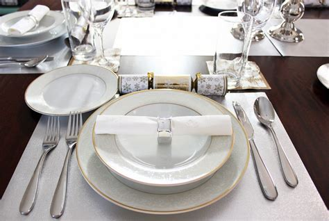 fine dining table setting dining room captivating dining room decoration using