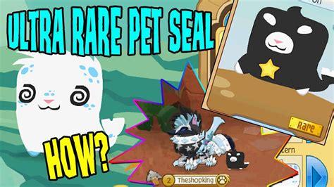 animal jam   rare pet seal  special promo