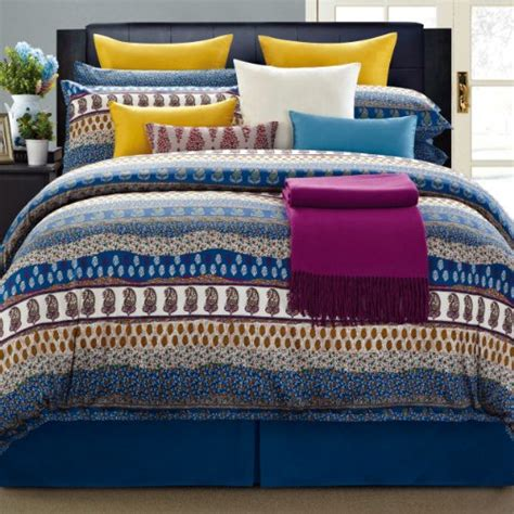 bed in a bag cal king everrouge 8 piece aladdin cotton bed in a bag california king bedroom store