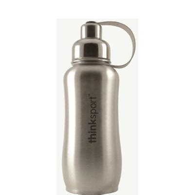 Dijamin Oxone Sport Bottle With Stainless thinksport stainless steel sports bottle in silver paperlesskitchen