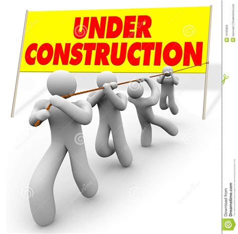Under Construction - Team Pulling Up Sign Royalty Free ... Free Clip Art Images Construction