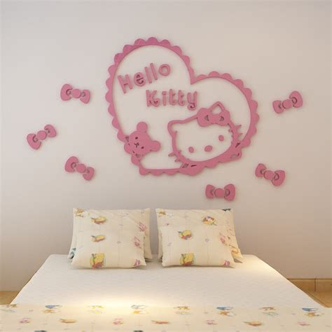 Wallpaper Sticker Dinding Kartun Anak Hello Pink Let S Play buy grosir dinding from china dinding penjual aliexpress alibaba
