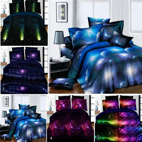 galaxy bed popular space quilt cover buy cheap space quilt cover lots