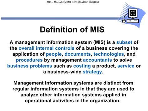 define systemize 39343460 mis