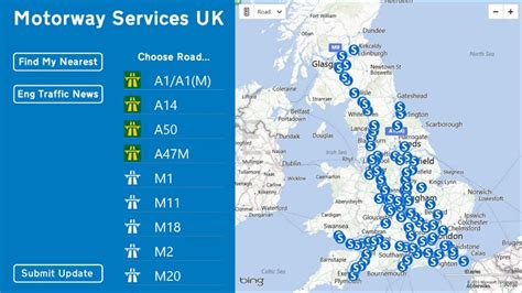 map uk motorway services map uk motorway services travel maps and major tourist