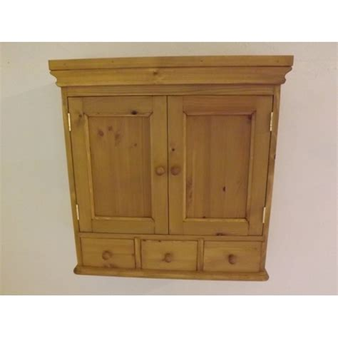 2 door wall cabinet pine 2 door wall cabinet with 3 spice drawers 65cm width