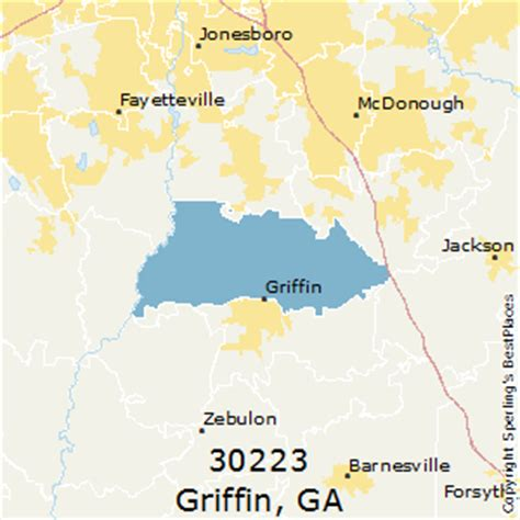 best places to live in griffin zip 30223