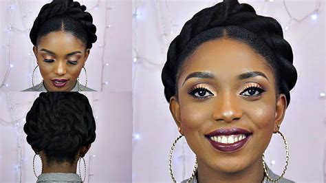 bun and and front twist how to jumbo front twist bun tutorial on short natural