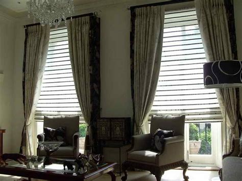 Doors Windows Classy Curtains With Blinds The Benefits