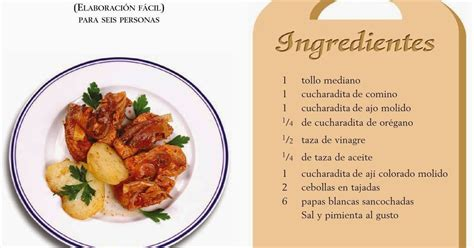 una receta de cocina facil recetas de cocina peruana adobo de pescado comida