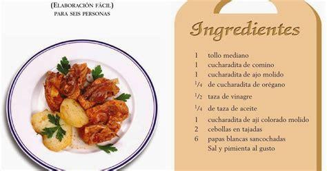 de recetas de cocina recetas de cocina peruana adobo de pescado comida