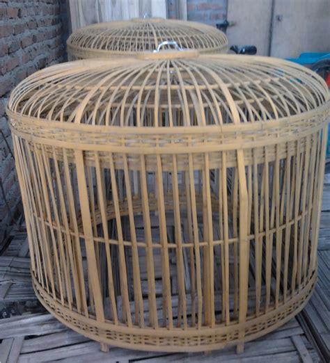 Kandang Ayam Pagar Bambu kurungan ayam atau kandang ayam galangan bambu