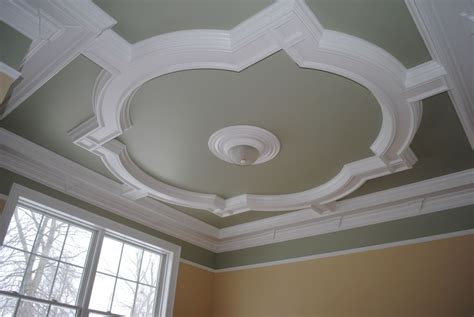 Coffered Ceiling Designs | quatrefoil coffered ceiling design part two