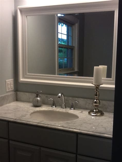 kraftmaid bathroom vanity mirrors 1000 images about bathroom before and after on pinterest