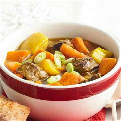 root vegetable beef stew fireside beef stew with root vegetables midwest living