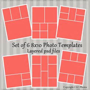 8x10 Photo Collage Template by 8x10 Marketing Photo Template Collage Story Board Layered Psd