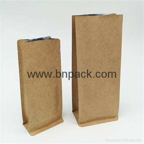 Standing Pouch 500 Ml 250g 500g 1000g standing pouch kraft paper coated