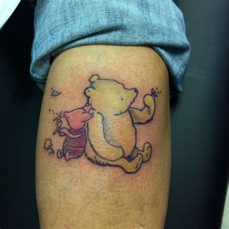 piglet tattoo winnie the pooh and piglet inked