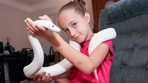 how to roller set a nine year old hair 9 year old snake handler krista guarino youtube