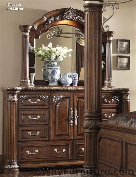 four post bedroom set cafe noir four poster bedroom set with iron canopy