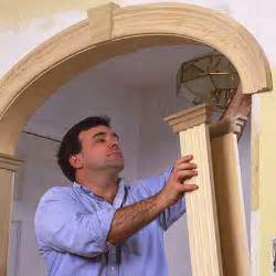 How To Instal Wainscoting Create An Archway Beautify Your Home With Crown Molding