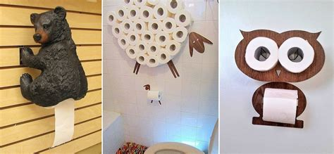creative toilet paper holders home design garden