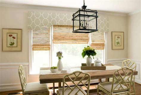 blinds  shades  dining rooms home bunch
