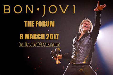 Bon Jovi Forum   bon jovi tickets 8th march the forum inglewood