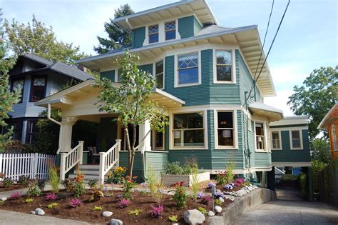 Two Story Craftsman Style House Plans 1908 vintage american foursquare craftsman home in seattle