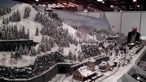 layout scene winter scenery model railway youtube