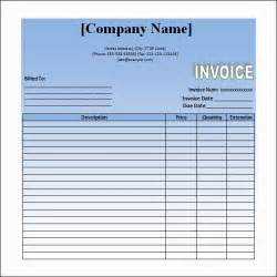 Sle Invoice For Services Rendered Template by Word Invoice Template 14 Free Documents In Pdf
