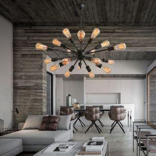 decor living sputnik 25 best ideas about edison chandelier on edison bulb light fixtures dining room