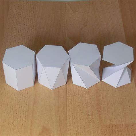 origami prism best 25 prisma hexagonal ideas on figuras